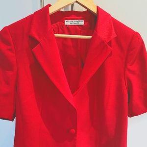 Melosh Couture Blazer Red Size M
